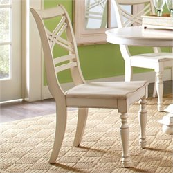 Beaumont Lane X-Back Dining Chair in Honeysuckle White