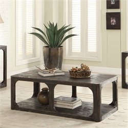 Beaumont Lane Coffee Table in Worn Black