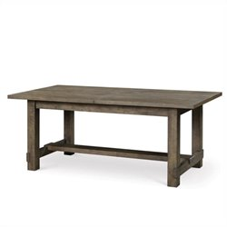 Beaumont Lane Wood Dining Table in Gray Acacia