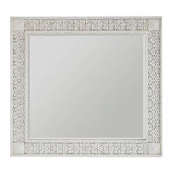 Beaumont Lane Mirror in Parchment
