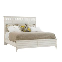 MER-918 Beaumont Lane Panel Bed in Parchment