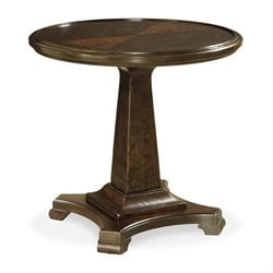 Beaumont Lane Round End Table in Sumatra