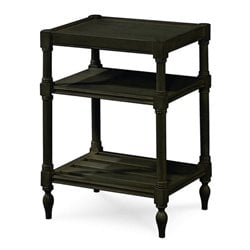 Beaumont Lane Chair Side Table in Midnight