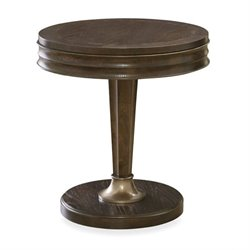 Beaumont Lane Round End Table in Hollywood Hills