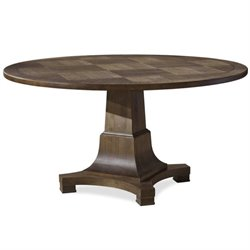 Beaumont Lane Round Dining Table in Brown Eyed Girl