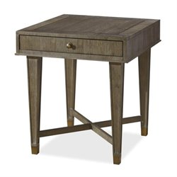 Beaumont Lane 1 Drawer End Table in Brown Eyed Girl