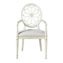 Beaumont Lane Dining Arm Chair in Summer White