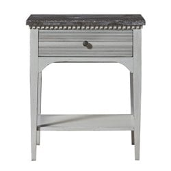 Beaumont Lane Nightstand in Gray Lake and Blue Stone