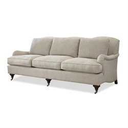 Beaumont Lane Upholstered Sofa in Linen