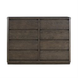 Beaumont Lane 8 Drawer Dresser in Graphite
