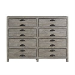 Beaumont Lane 8 Drawer Dresser in Graystone