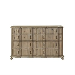 Beaumont Lane 8 Drawer Dresser in Khaki
