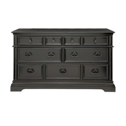Beaumont Lane 9 Drawer Dresser in Ebony