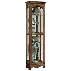 MER-1395 Beaumont Lane Side Entry Curio Cabinet in Wood