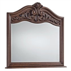 Beaumont Lane Mirror in Dark Wood