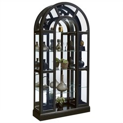 Beaumont Lane Curio Cabinet in Black
