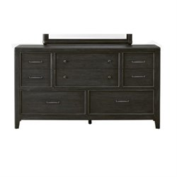Beaumont Lane 8 Drawer Dresser in Black
