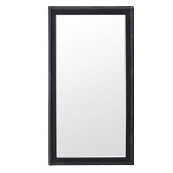 Beaumont Lane Floor Mirror in Black