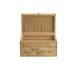 Reed & Barton Selene Jewelry Box in Dark Walnut