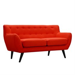 223314 Ida Loveseat in Retro Orange