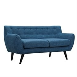 223318 Ida Loveseat in Stone Blue