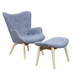 445568 Aiden Chair in Slate Blue