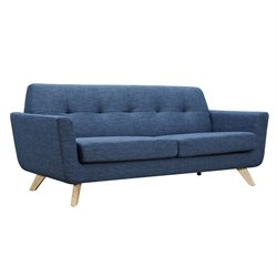 224469 Dania Sofa in Stone Blue