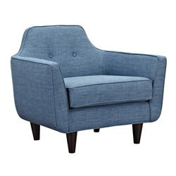 223392 Agna Armchair in Stone Blue