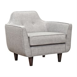 223396 Agna Armchair in Aluminium Gray