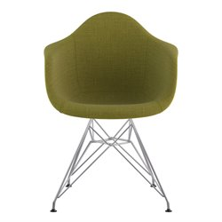 332002 Mid Century Eifel Arm Chair in Avocado Green