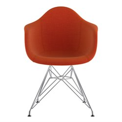 332004 Mid Century Eifel Arm Chair in Lava Red