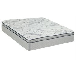 Sealy Brand Wheatcroft Plush Euro Pillowtop Mattress