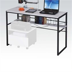 Scranton and Co Computer Desk in Black and White
