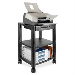 Scranton & Co 3 Shelf Moblie Printer Stand