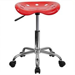 MER-1133 Adjustable Bar Stool with Chrome Base