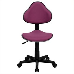 Scranton & Co Modern Ergonomic Task Office Chair in Lavender