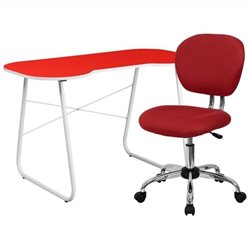 MER-1133 Computer Desk and Swivel Chair