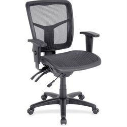 Scranton & Co Mid-back Swivel Mesh Chair