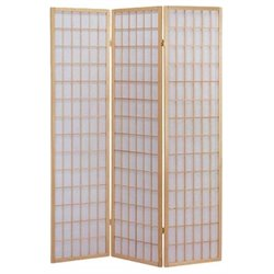Hawthorne Collection 3 Panel Wooden Screen