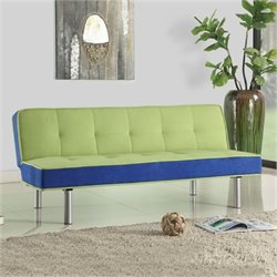 Hawthorne Collection Fabric Convertible Sofa