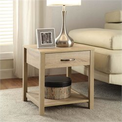 Hawthorne Collection End Table in Blonde