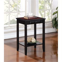 Hawthorne Collection End Table in Black Cherry