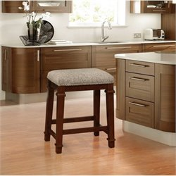 Hawthorne Collection Counter Stool in Brown Tweed