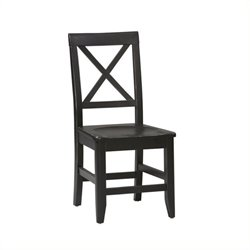 Hawthorne Collection Dining Chair in Distressed Antique Black