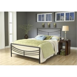 MER-1183 Kingston Spindle Bed in Brown