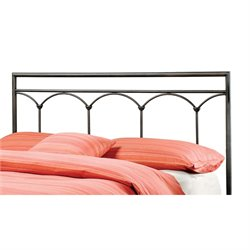 MER-1183 McKenzie Headboard in Brown Steel