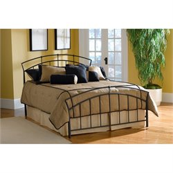 MER-1183 Vancouver Spindle Bed in Black