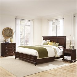 MER-1183 Home Styles Colonial Classic 3 Piece Panel Bedroom Set 1