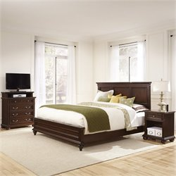 MER-1183 Home Styles Colonial Classic 3 Piece Panel Bedroom Set