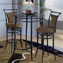 MER-1183 3 Piece Pub Table Set with Stools 1